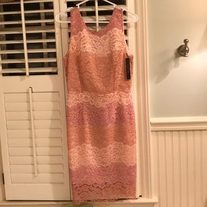 Tahari Lace Cocktail Dress
